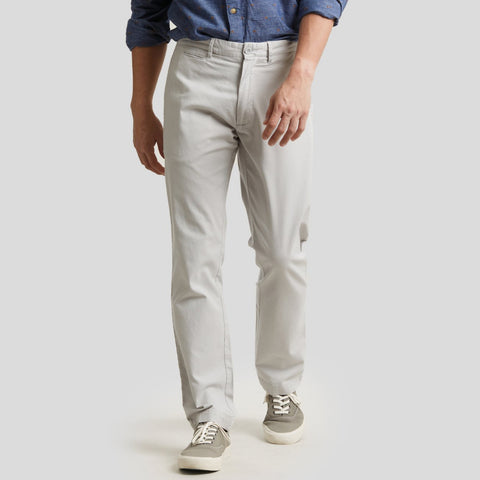 Newport Canvas Stretch Pants - Lunar Rock Gray