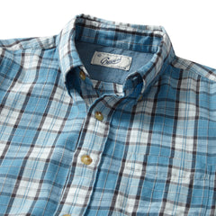Winford Slub Twill Long Sleeve Shirt - Niagara Blue Blush-Grayers