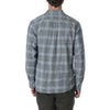 Laguna Herringbone Twill Shirt - Gray Citrus Plaid