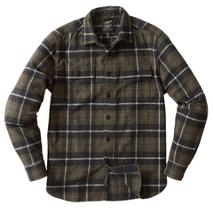 Eleon Heritage Flannel - Olive Heather Plaid
