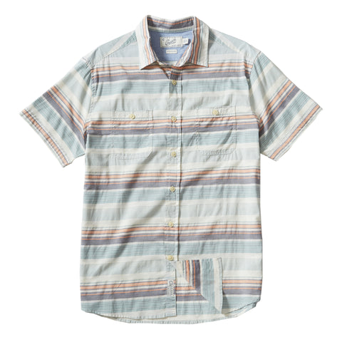 Ardenzo Linen Cotton Stretch Long Sleeve Shirt - Buckskin