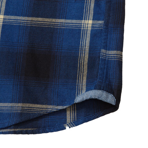 Wolf Hollow Twill Plaid - Blue Black