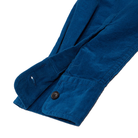 Sutherland Stretch Corduroy Shirt - Mallard Blue-Grayers