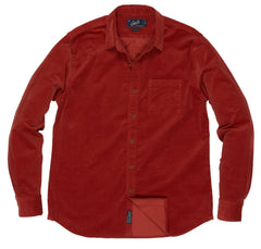 Sutherland Stretch Corduroy Shirt - Dusty Cedar-Grayers
