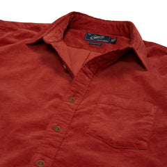 Sutherland Stretch Corduroy Shirt - Dusty Cedar