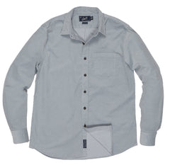 Sutherland Stretch Corduroy Shirt - Lunar Rock-Grayers