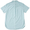 Grange Shadow Gingham Short Sleeve Shirt - Seafoam
