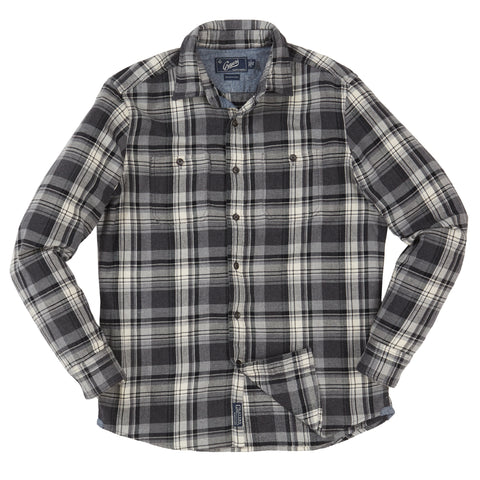 Rexford Midweight Plaid - Green Blue