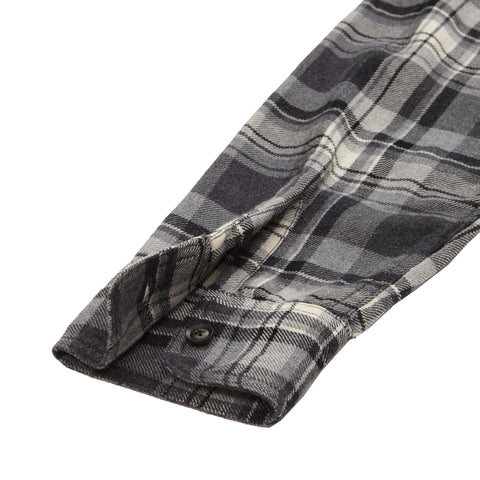 Galway Midweight Plaid - Gray Black