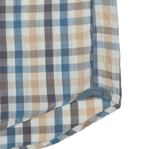 Sommerset Multi Color Check Short Sleeve Shirt - Quite Shade / Blue-Grayers