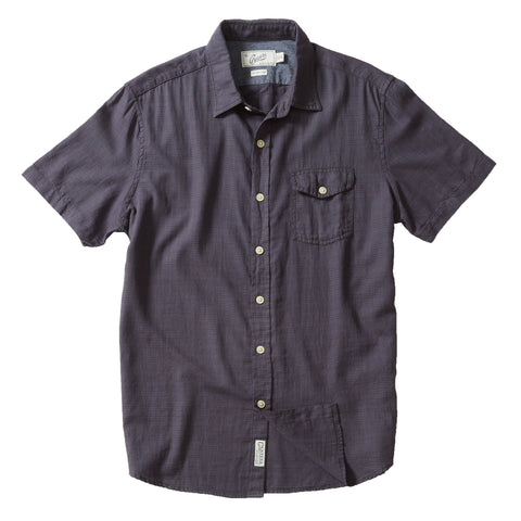 Horizon Summer Twill Shirt Short Sleeve Shirt - Charcoal