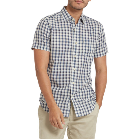 Blake Gingham - Navy Cream