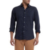 Portofino Featherweight Poplin Shirt - Navy-Grayers