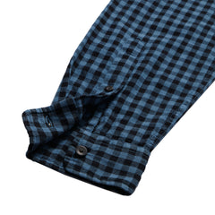 Sedona Light Twill Gingham Shirt - Colony Blue