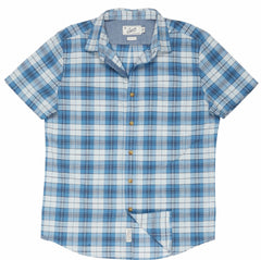 Savannah Slub Poplin - Blue Plaid-Grayers