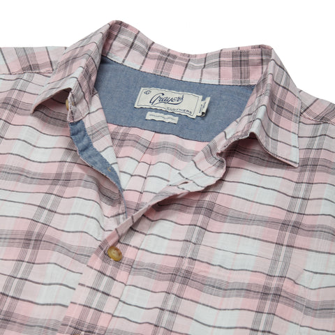 Savannah Slub Poplin - Quartz Plaid-Grayers