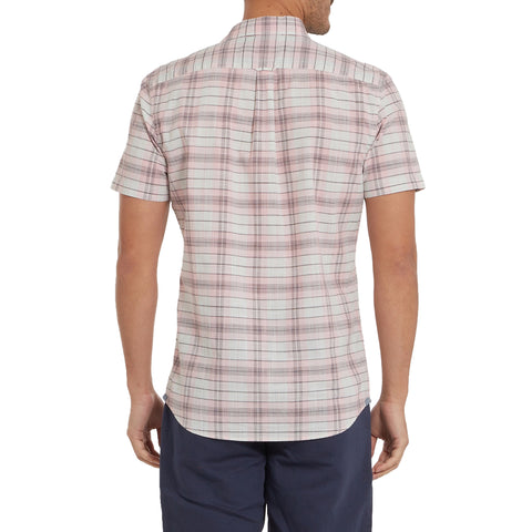 Savannah Slub Poplin - Quartz Plaid