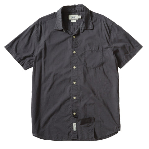 Portofino Featherweight Poplin Short Sleeve Shirt - Forged Iron