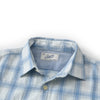 Fielding Summer Twill Shirt - Blue Cream Check