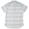 Gramercy Chambray Short Sleeve Shirt - Gray Cream Stripe