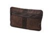 Windhoek Wool Travel Pouch - Brown Herringbone