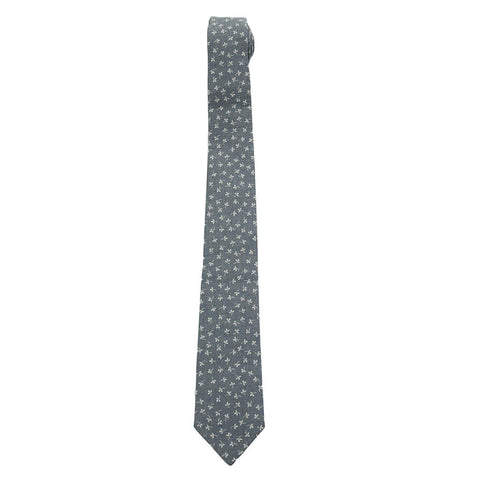 Pique Tie - Navy Heather