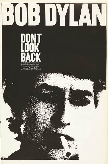 D.A. Pennebaker Don t Look Back Movie Poster