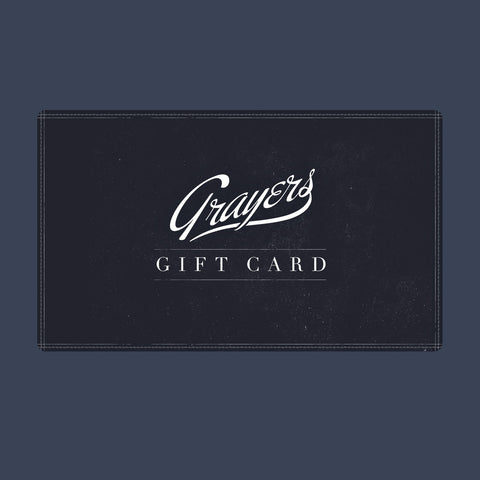 Grayers Digital Gift Card-Grayers