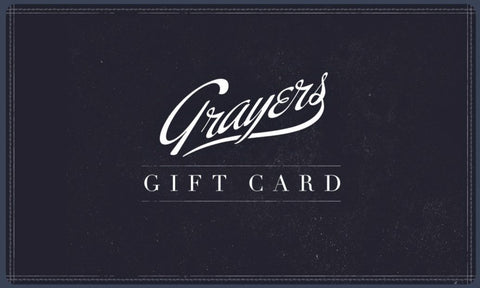 Grayers Gift Card