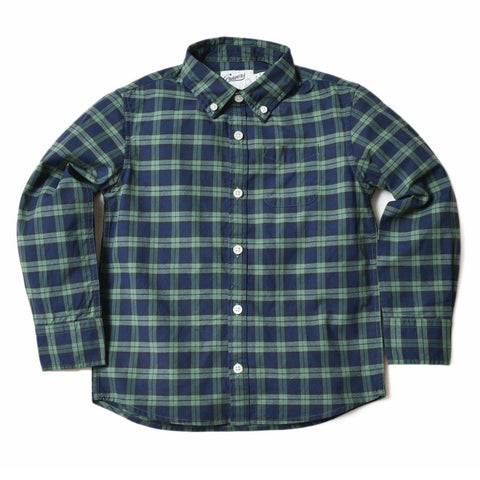 Boy's Heritage Flannel Shirt - Multi Color Plaid