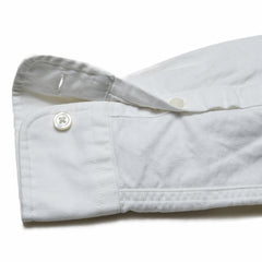 Boy's Button Down Shirt - White-Grayers