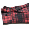 Boy's Heritage Flannel Shirt - Charcoal Red Plaid