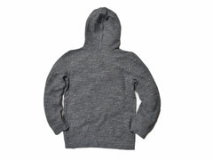 Boy's Double Cloth Hoodie - Charcoal-Grayers
