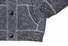 Boy's Avalon Cardigan - Navy Marl