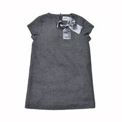 Girl's Sunday Dress - Charcoal Heather-Grayers
