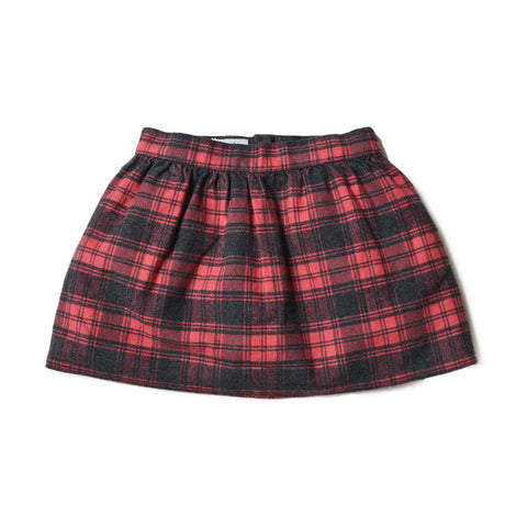 Collection Skirt In Italian Wool Flannel Women S Skirts