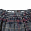 Girl's Flannel Skirt - Charcoal Multi Color