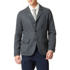Wool Tie - Light Gray Heather