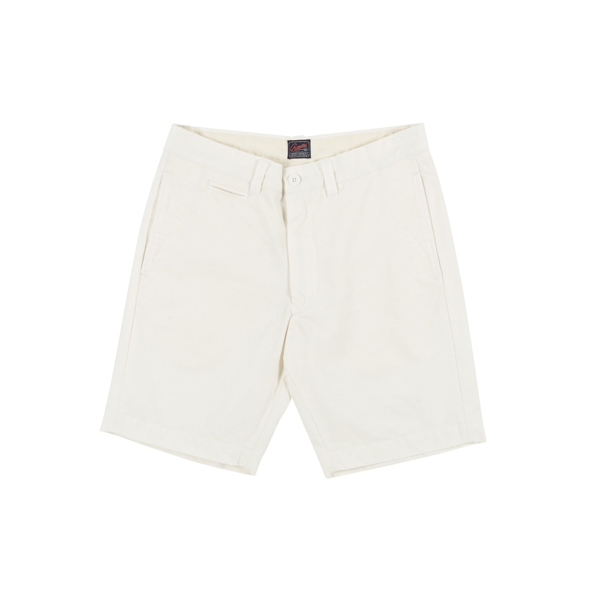 "9"" Newport Club Short - White"