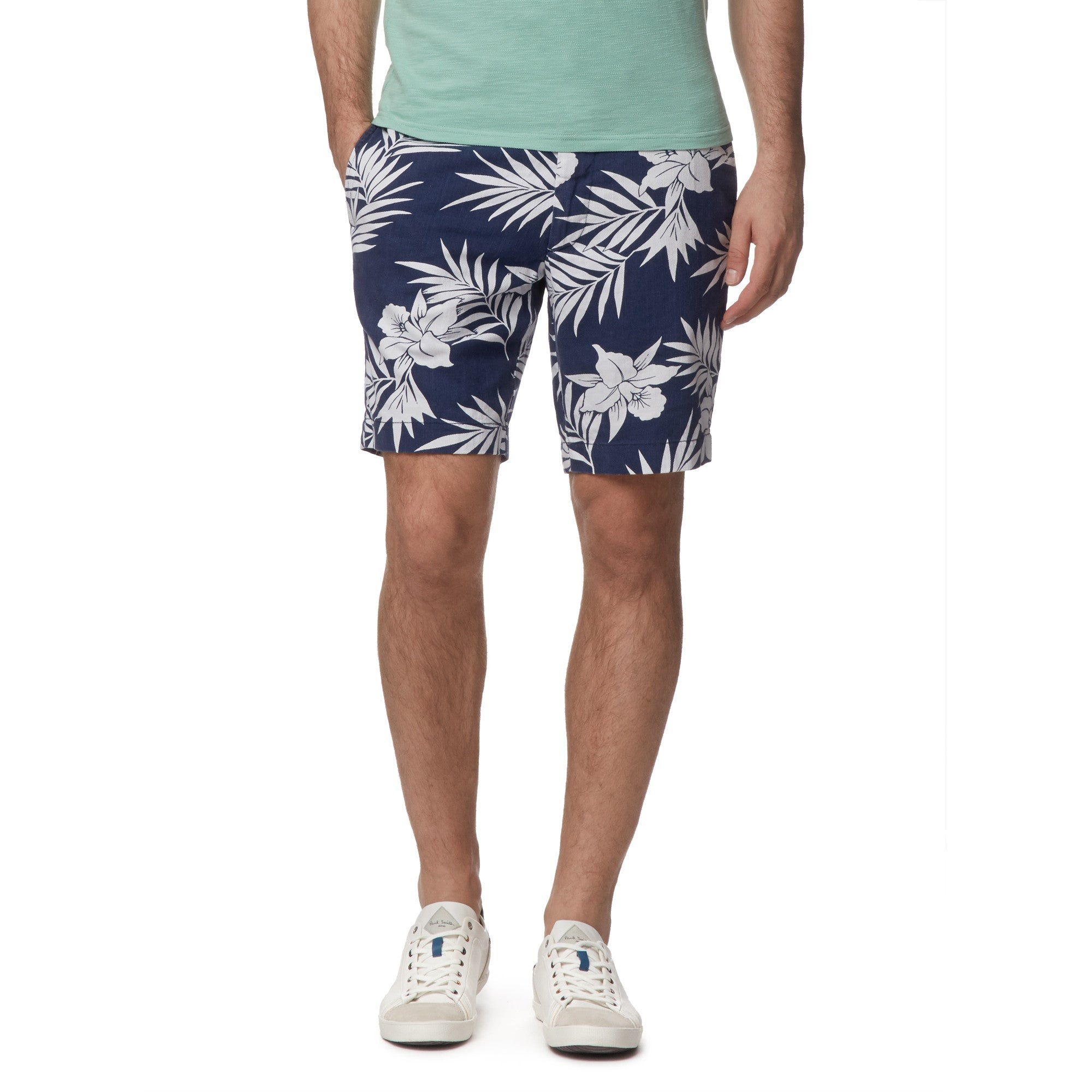 "9"" Newport Club Short - Leaf Print"