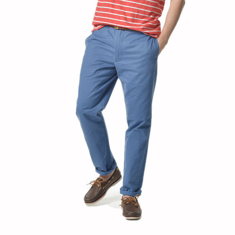Newport Modern Fit Chino -Military Blue