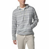 Dylan Double Cloth Popover Hoodie - Cream Stripe