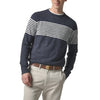 Cabana  Stripe Crew - Graphite Navy Neutral Stripe