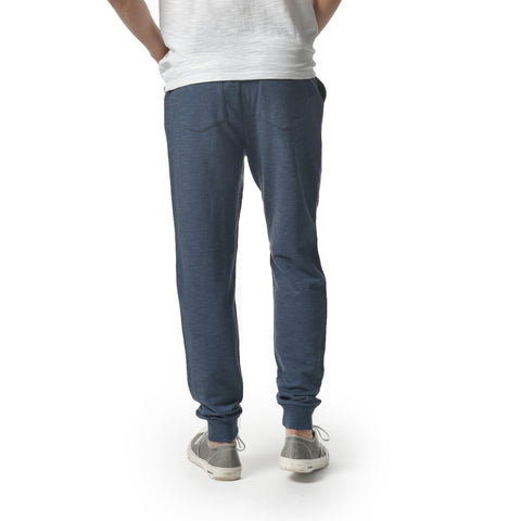 Montague Jogger Pant - Light Weight Terry-Navy Heather
