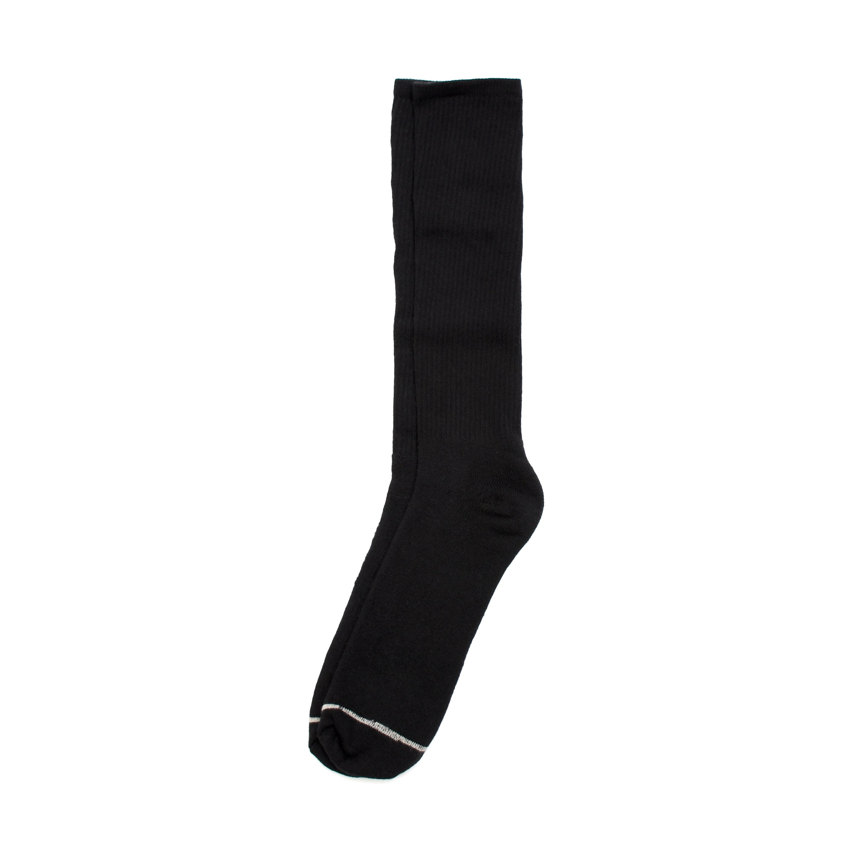 American Trench Silver Traveller Socks - Black