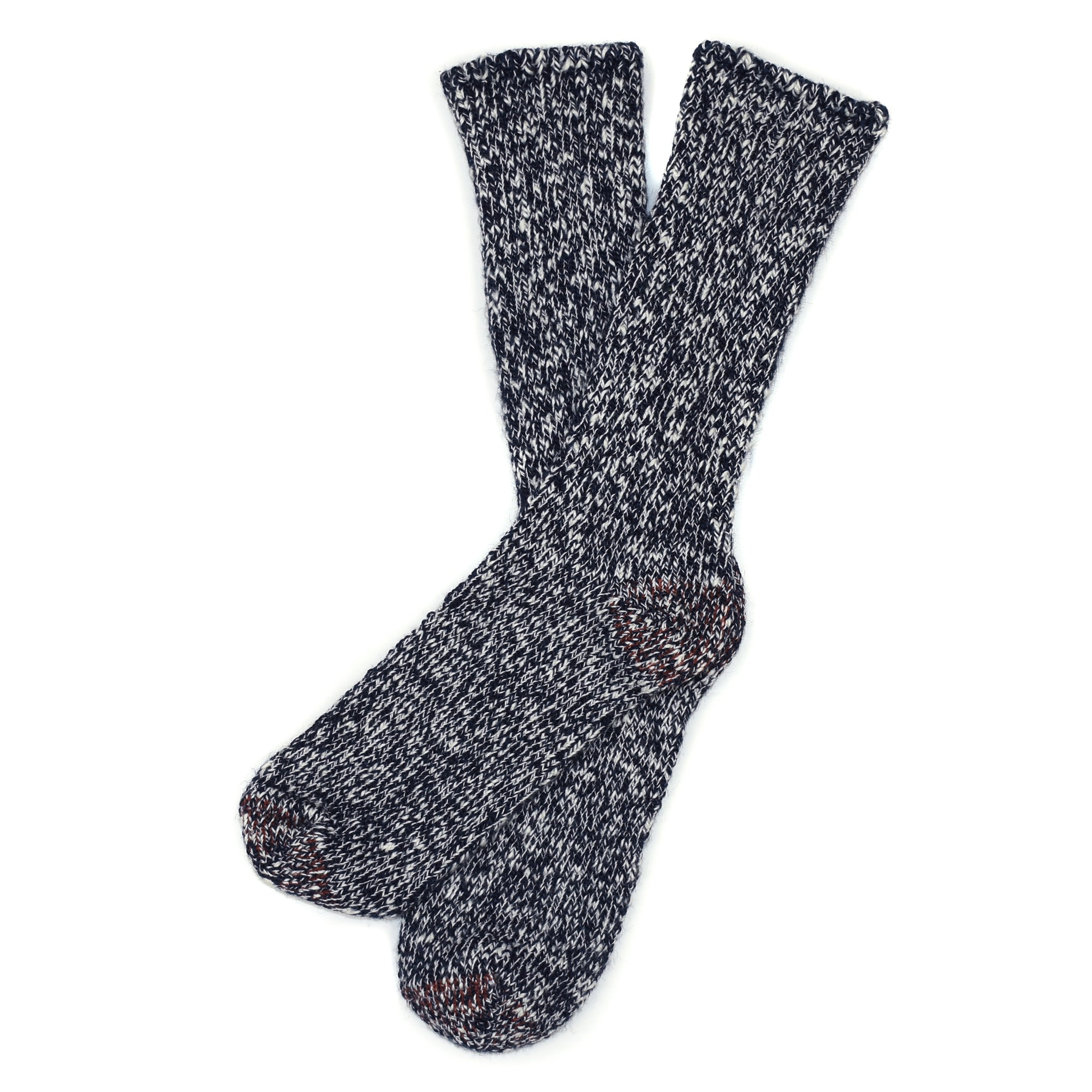 American Trench Slub Socks - Navy