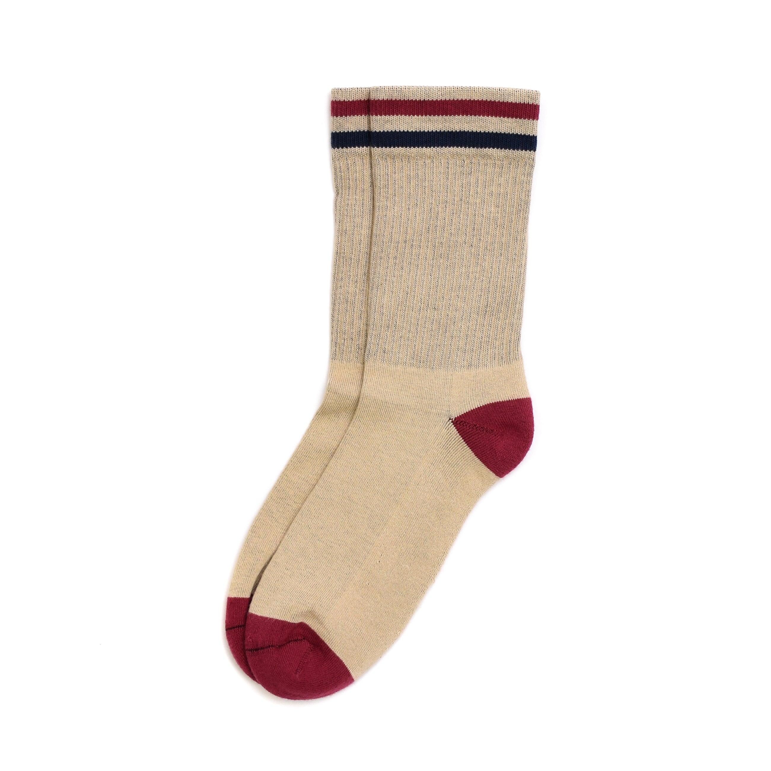 American Trench Kennedy Lux Athletic Socks -Tan