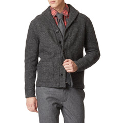 Wool Tie - Charcoal Heather-Grayers