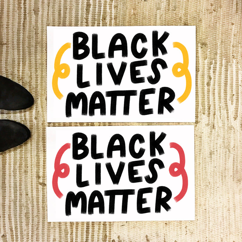 FREE 11x17 printable Black Lives Matter protest signs