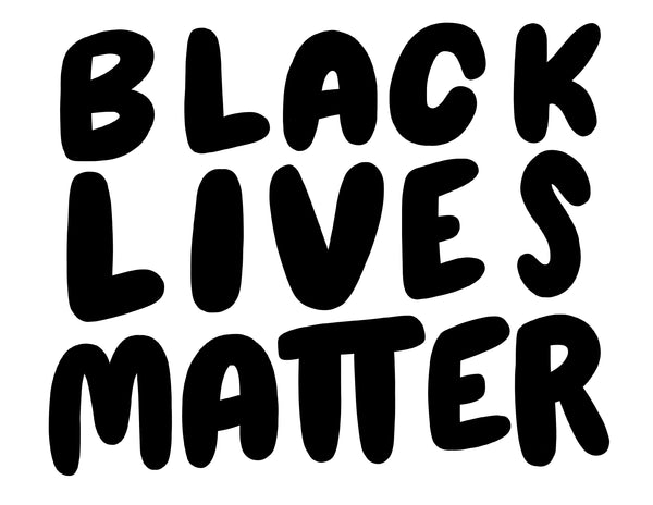 FREE printable Black Lives Matter sign & coloring page